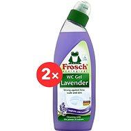 FROSCH WC Gel Lavender 2 × 750ml - Eco-Friendly Toilet Gel