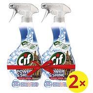 CIF Power & Shine Kúpeľňa 2× 500 ml - Čistiaci prostriedok