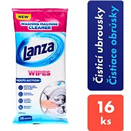 LANZA Washing Machine Cleaner Wipes 16 ks - Čistiace obrúsky