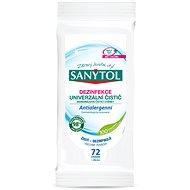 SANYTOL Dezinfekcia jednorazové čistiace obrúsky antialergénne 48 ks - Vlhčené utierky