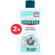 SANYTOL Dezinfekcia čistič práčky 2× 250 ml - Čistič práčky