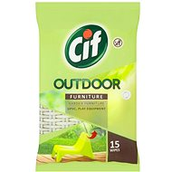 CIF Outdoor Furniture Wipes 15 ks - Čistiace obrúsky