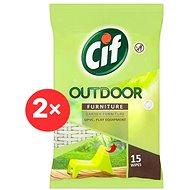 CIF Outdoor Furniture Wipes 2 x 15 ks