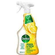 DETTOL Antibakteriálny sprej na povrchy, Citrón a Limetka 500 ml - Čistiaci prostriedok