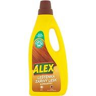 ALEX Leštenka a žiarivý lesk na drevo a laminát 750 ml - Čistiaci prostriedok