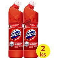 DOMESTOS Extended Power Red 2 × 750 ml - WC čistič
