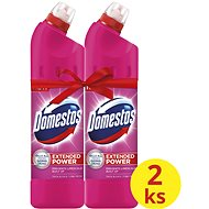 DOMESTOS Extended Power Pink 2× 750 ml - WC čistič