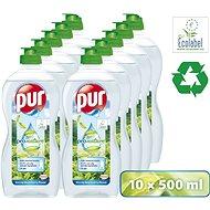 PUR Pro Nature 10 × 500 ml - Eco-Friendly Dish Detergent