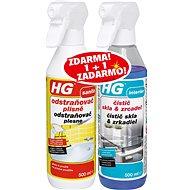 HG odstraňovač plesne + sklá a zrkadlá 2× 500 ml - Čistiaci prostriedok