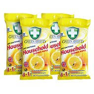 GREEN SHIELD for home use 4 × 50 pcs - Wet Wipes