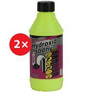 Sodium hydroxide waste cleaner 2 × 1 kg - Cleaner
