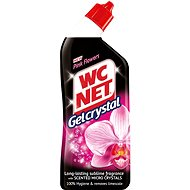 WC NET Gel Crystal Pink Flowers 750 ml - Toilet Cleaner