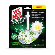 WC NET Style Crystal Green Exotic 1× 36,5 g - WC blok