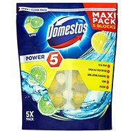 DOMESTOS Power 5 Lime 5 x 55 g - WC blok