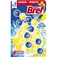 BREF Power Aktiv Quattro Juicy Lemon 4× 50 g - WC blok