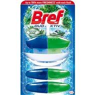 BREF DuoActive Pine záves 50 ml + 2x náhradná náplň - WC blok