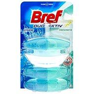 BREF DuoActive Freshness záves 50 ml + 2x náhradná náplň - WC blok