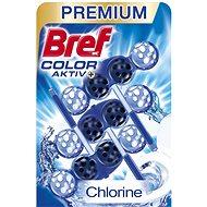 BREF Blue Aktiv Chlorine 3× 50 g - WC blok