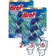 BREF Blue Aktiv Eucalyptus 6× 50 g - WC blok