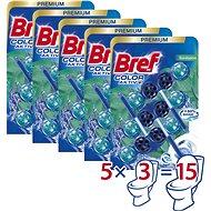 BREF Blue Aktiv Eucalyptus 15× 50 g - WC blok