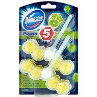 DOMESTOS Power 5 Lime 2× 55 g - WC blok