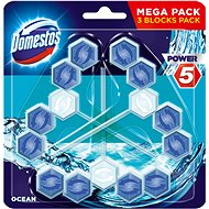 DOMESTOS Power 5 Ocean 3× 55 g - WC blok