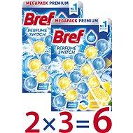 BREF Parfume Switch Marine – Citrus 6× 50 g - WC blok