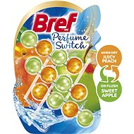 BREF Perfume Switch Peach-Red Apple 3× 50 g - WC blok