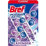 BREF Power Aktiv Lavender 3× 50 g - WC blok