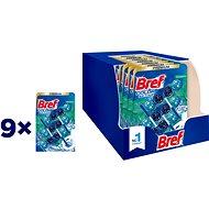 BREF Color Aktiv Eucalyptus tuhý WC blok 27× 50 g - WC blok