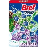 BREF Power Aktiv Pine & Lavender 4× 50 g - WC blok