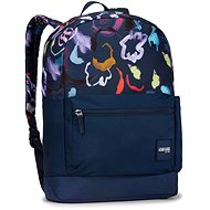 "Case Logic Commence 24 l CCAM1116 – Sketch Floral Dress Blue 15,6"""