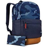 Case Logic Commence batoh 24L (modrý vzor/kmínově hnědá) - Batoh na notebook
