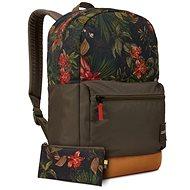 Case Logic Commence batoh 24L (květinový vzor/kmínově hnědá) - Batoh na notebook