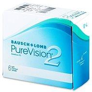 PureVision 2 HD (6 šošoviek) dioptria: +4.50, zakrivenie: 8.60 - Kontaktné šošovky