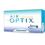 Air Optix Aqua (6 šošoviek) dioptrie: -7.50, zakrivenie: 8.60 - Kontaktné šošovky