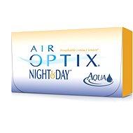 Air Optix Aqua (6 šošoviek) dioptrie: -7.50, zakrivenie: 8.40 - Kontaktné šošovky