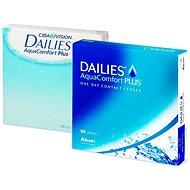 Kontaktné šošovky Dailies AquaComfort Plus (90 šošoviek) - Kontaktné šošovky