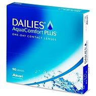 Dailies AquaComfort Plus (90 šošoviek) dioptrie: -5,00, zakrivenie: 8,70 - Kontaktné šošovky