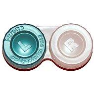 Optipak antibakteriálne puzdro – zelené - Puzdro na kontaktné šošovky
