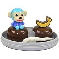 Sestava opice modrá - Puzdro na kontaktné šošovky