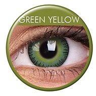 ColourVUE – Fusion (2 šošovky) Farba: Green Yellow - Kontaktné šošovky