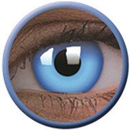 ColourVue Crazy šošovky UV svietiace – Glow Blue (2 ks ročné) – nedioptrické - Kontaktné šošovky