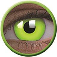 ColourVue Crazy šošovky UV svietiace – Glow Green (2 ks ročné) - nedioptrické - Kontaktné šošovky
