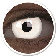 ColourVue Crazy Lens UV shining - Glow White (Magic) (2 lenses - 1-year wear) - non-prescription - Contact Lenses