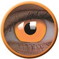 ColourVue Crazy šošovky UV svietiace - Glow Orange (2 ks ročné) - nedioptrické - Kontaktné šošovky
