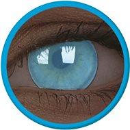 ColourVue Crazy šošovky UV svietiace – Electric Blue (2 ks ročné) – nedioptrické - Kontaktné šošovky