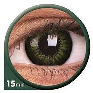 ColourVUE dioptrické Big Eyes (2 šošovky), farba: Be party green, dioptrie: -4.50 - Kontaktné šošovky