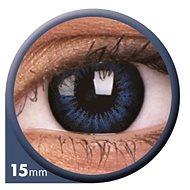 ColourVUE dioptrické Big Eyes (2 šošovky), farba: Be cool blue, dioptrie: -7.00 - Kontaktné šošovky