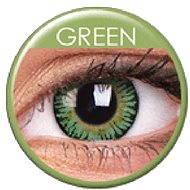 ColourVUE dioptrické 3 Tones (2 šošovky), farba: Green, dioptrie: -6.50 - Kontaktné šošovky